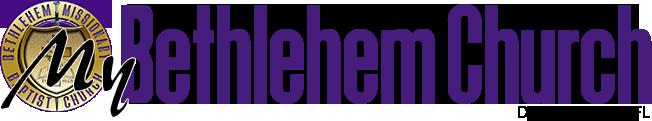 My Bethlehem Church Logo